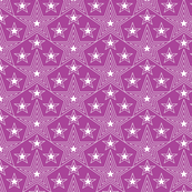 Shining Star* (Vesuvius) || stars geometric superstar disco 70s 80s pop art purple violet