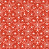 Shining Star* (Tomato Soup) || stars geometric superstar disco 70s 80s pop art red