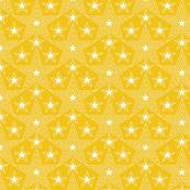 Shining Star* (Velvet Banana) || stars geometric superstar disco 70s 80s pop art yellow