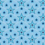 Lucky Star* (Sailor) || stars superstar 70s 80s pop art pastel light blue