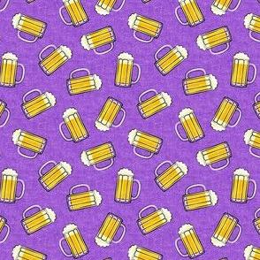(small scale) Mug of beer - purple - LAD20BS