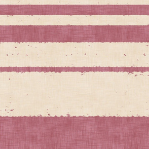 Retro Strips - on Pink (large scale)