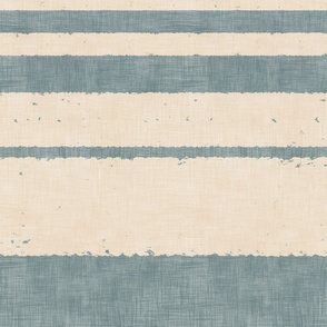 Retro Stripes - on Blue (large scale)