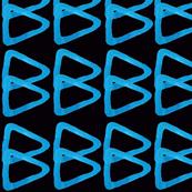 Blue & Black Geometric