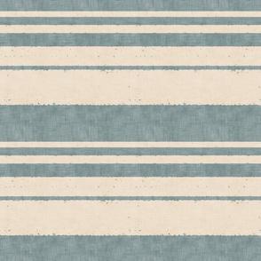 retro stripes on blue (small)