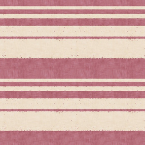 retro stripes on pink (small scale)