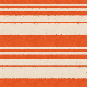 retro stripes on red (small scale)