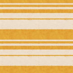 retro stripes on yellow (small scale)