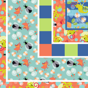 Rain Forest-cheater-quilt
