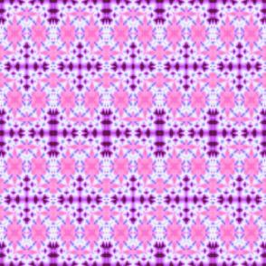 Pink & Lavender Cross Star Diamonds