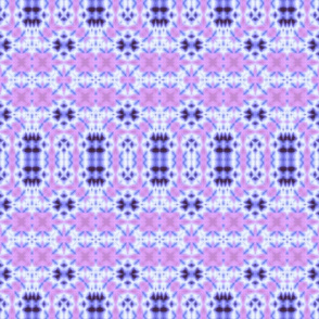 Indigo & Lavender Star Lace