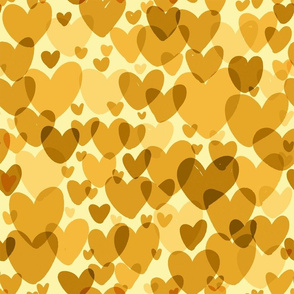 yellow hearts small