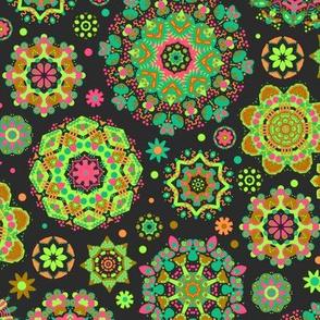 Candy Colored Kaleidoscope//yellow