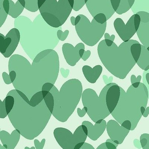 green hearts small