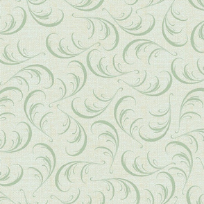 swirl_wallpaper_burlap_green