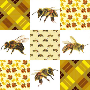 Cheater Quilt Bees