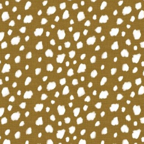Deer Spot Linen Antique Gold