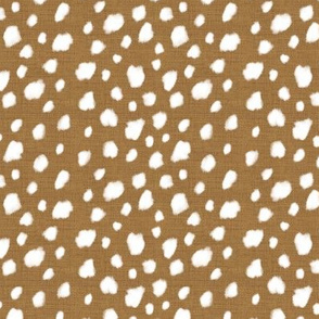 Deer Spot Linen Faded Gold