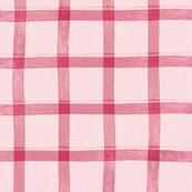 Valentine Plaid { pink }