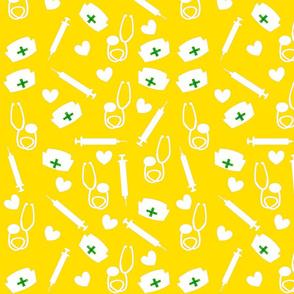 Nurse Tools in Yellow