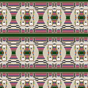 serape blanket _ llama-multi