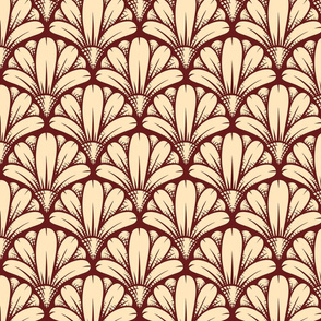 Seamless Tribe Flower Pattern