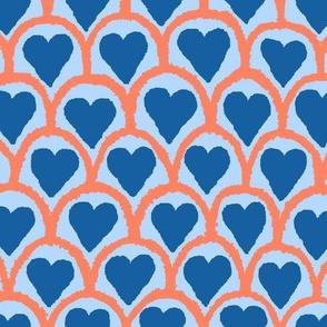 Hearts&ScallopsBlue