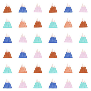 Spoonflower Earth Tones Mountain - Draft 3 - Merged Visible