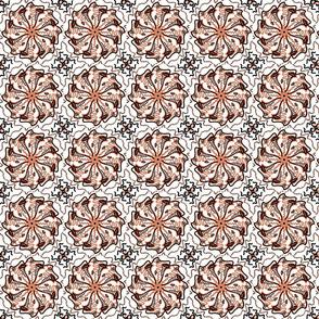 orange and black pattern smaller