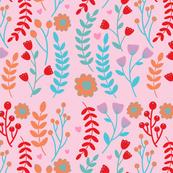 Powdery Pastel Florals