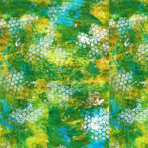 Crafting Vicky Painty yellow background