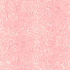 Modern Chintz Petal Pink
