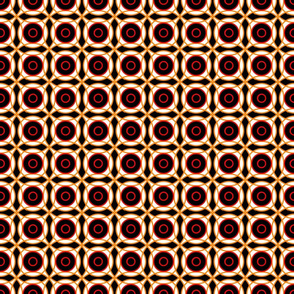 Red, yellow, black geom