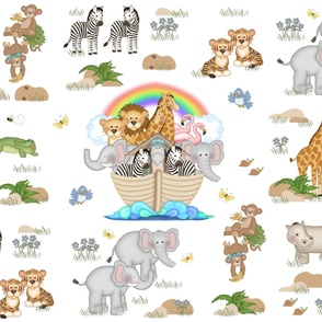 Noahs Ark Animals Baby Nursery