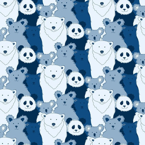 Bears in Blue