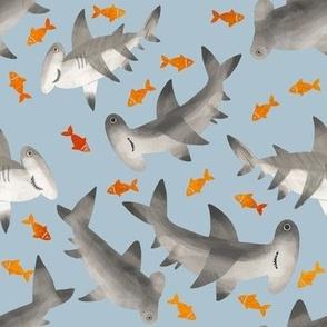 1223 SHARKS and fish
