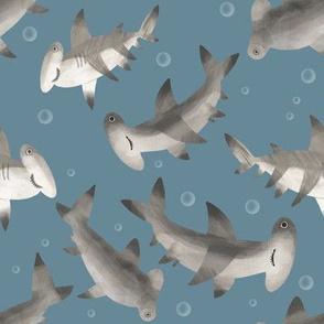 1223 SHARKS bubble