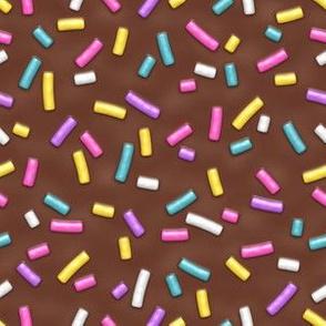 R40 Sprinkles Brown Glaze