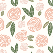 Gigi's Pink Rosebud Garden - Large Scale_5x