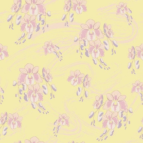 Spring Orchids in Pastel - small