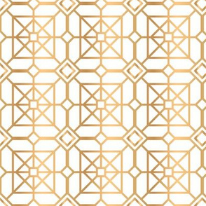 Square Golden Geometry