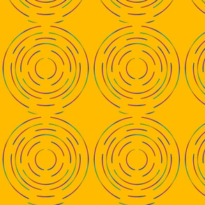 Maze on yellow
