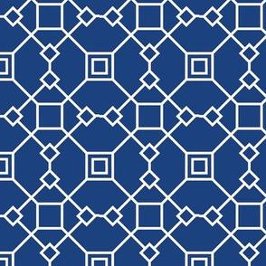 Blue Diamond Geometric