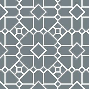 Grey Diamond Geometric