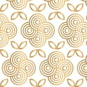 Gold Wave Flower