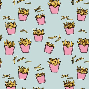 Little fries food lovers french fries potato chips after school snack kids pink girls
