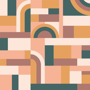 Muted Tones Blocks