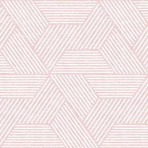 cadence triangles - geometric - pink - LAD20