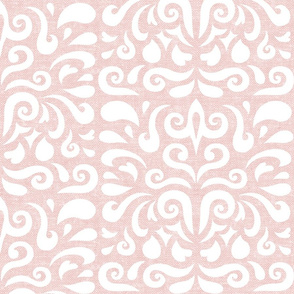 candence damask in pink - LAD20