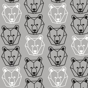 Geometric Bear Faces